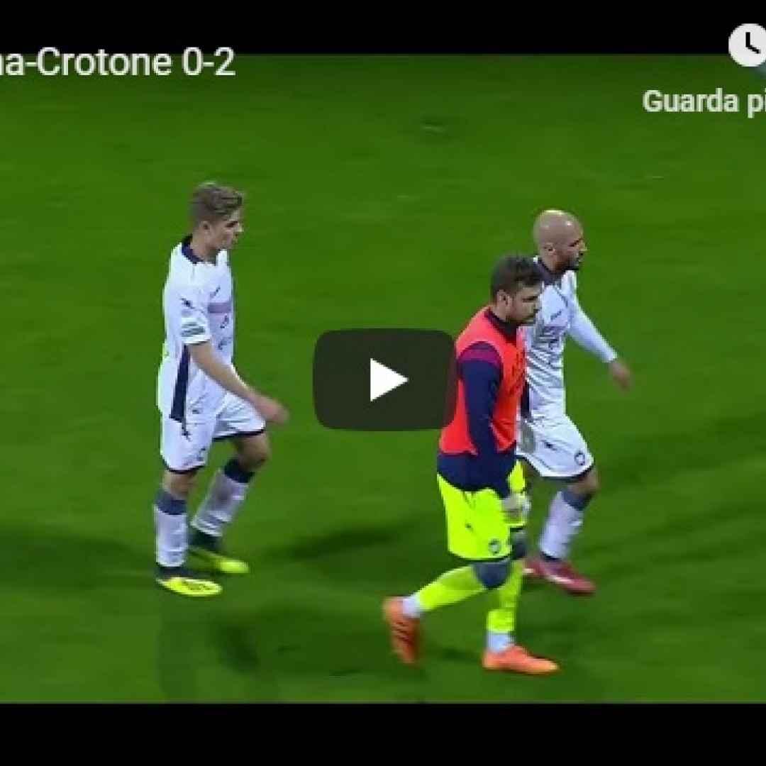 salertinana crotone video gol calcio