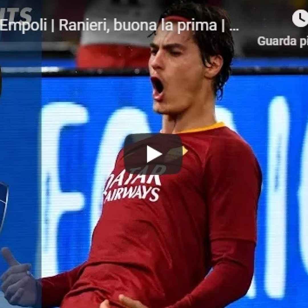 roma empoli video gol calcio