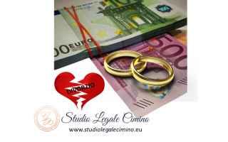 avvocato cimino  gelsomina cimino  divorzi  assegno divorzile  coniuge