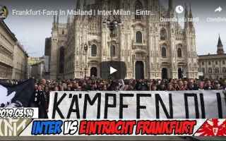 Europa League: video ultras tifosi calcio milano