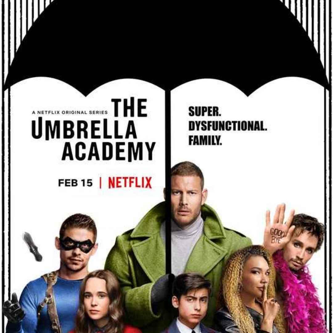 the umbrella academy  netflix  serie tv