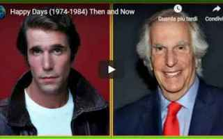 Serie TV : happy days  tv  fonzie  sitcom  ron howard