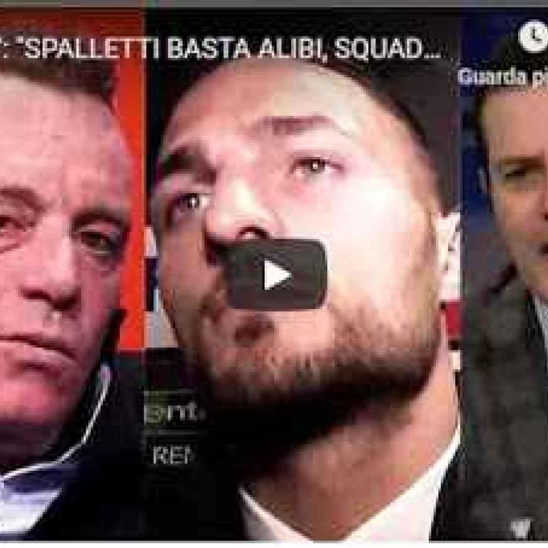 inter spalletti pedullà calcio video