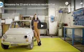 Automobili: video restauro fiat motori hobby