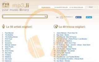 Mp3li è un sito per scaricare musica gratis, sulla nostra guida ti mostriamo come scaricare f