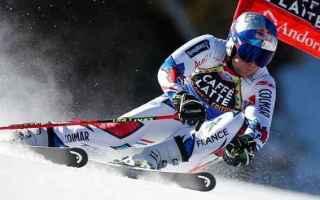 Sport Invernali: SCI ALPINO: FINALI SOLDEU: GIGANTE A PINTURAULT SHIFFRIN BATTE HOLDENER IN SLALOM