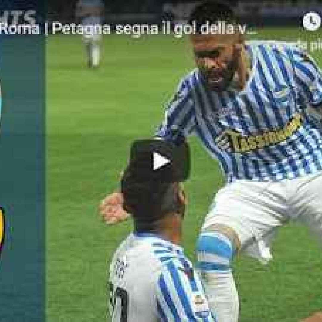 spal roma video calcio gol