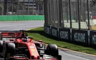 Formula 1: ferrari  formula 1  australia  risultati