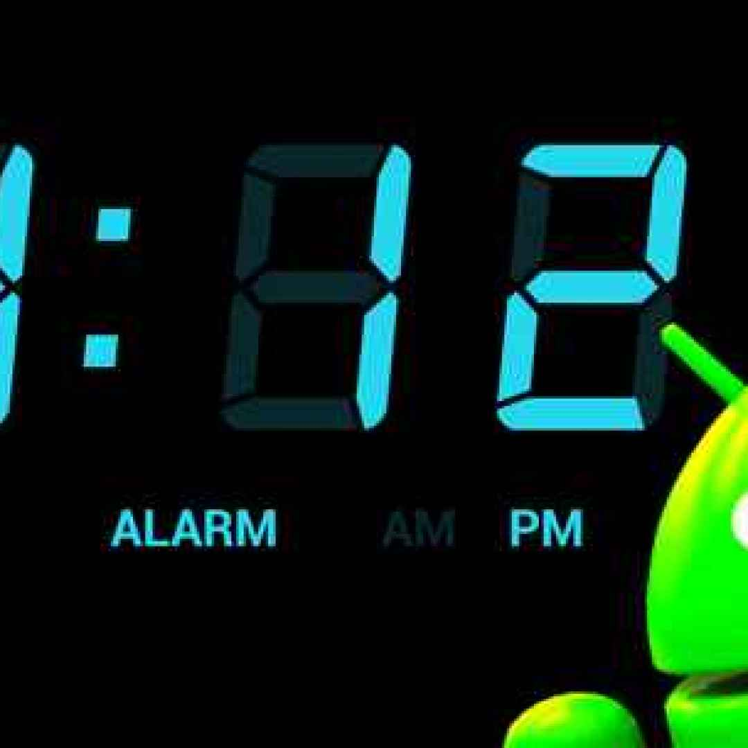 widget android orologio clock play store