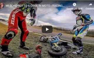 Motori: video moto motori pit bike alberto naska