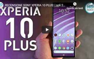 recensione smartphone sony video