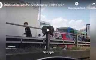 milano video bambini carabinieri cronaca