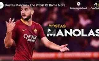 roma juventus video calcio manolas