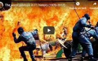 video formula 1 pit stop motori
