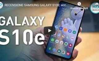 video recensione smartphone samsung