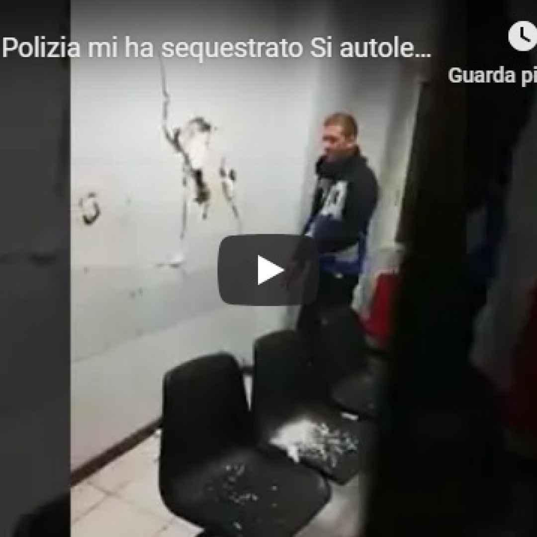 roma polizia video arresto sequestro