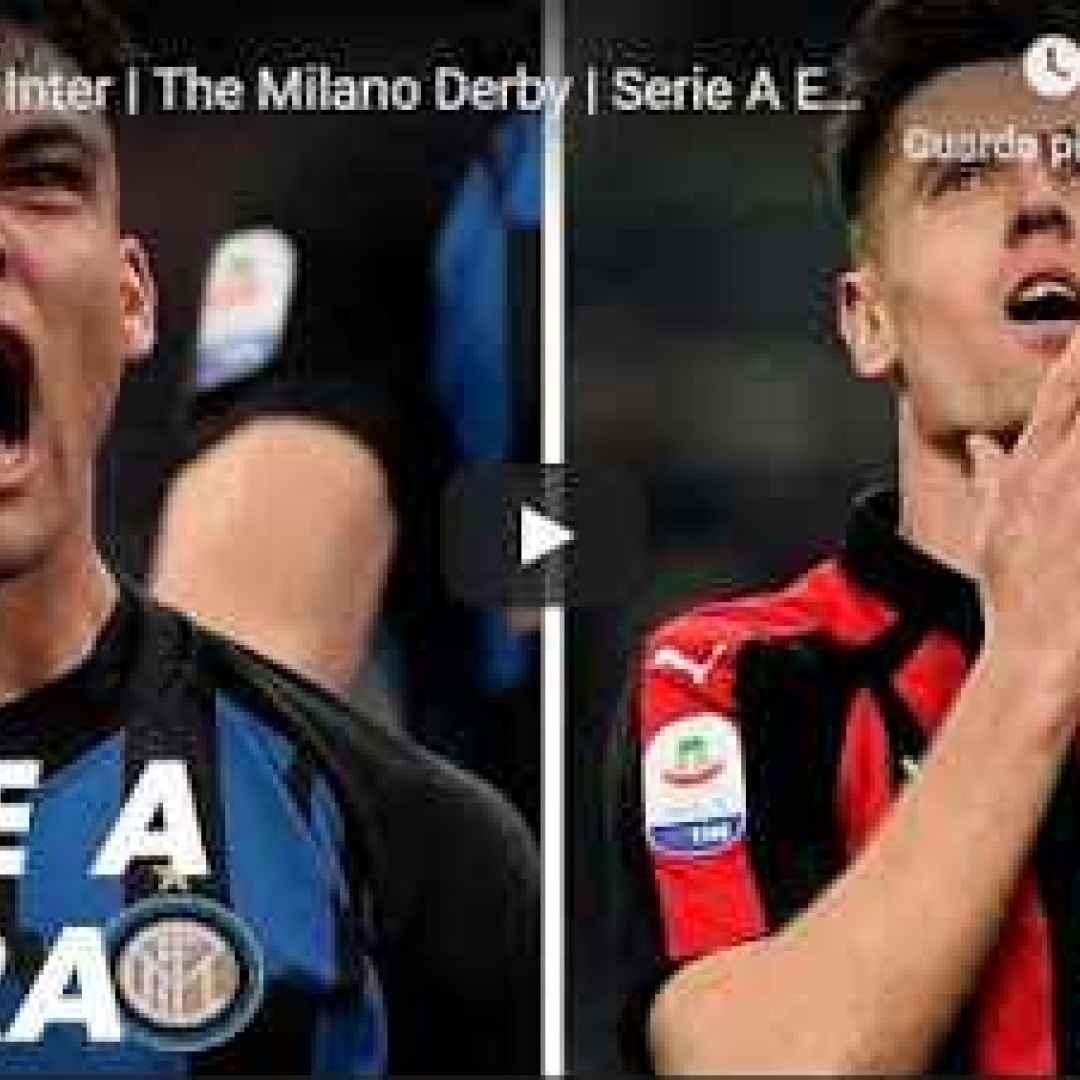 milan inter video gol calcio