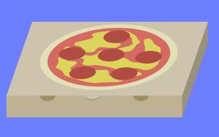 Salute: ministero  cartone  pizza  salute