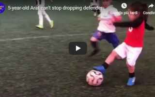 Calcio: video bimbo calcio ronaldo instagram