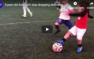 video bimbo calcio ronaldo instagram