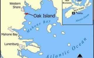 dal Mondo: oak island  pozzo  templari