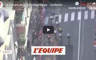 milano sanremo video ciclismo sport