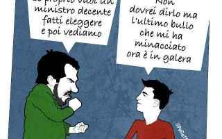 Satira: salvini  satira  bullismo sparatrap