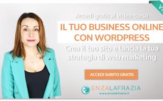 Web Marketing: wordpress