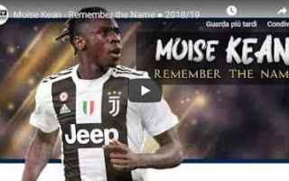Calcio: juventus juve calcio video kean
