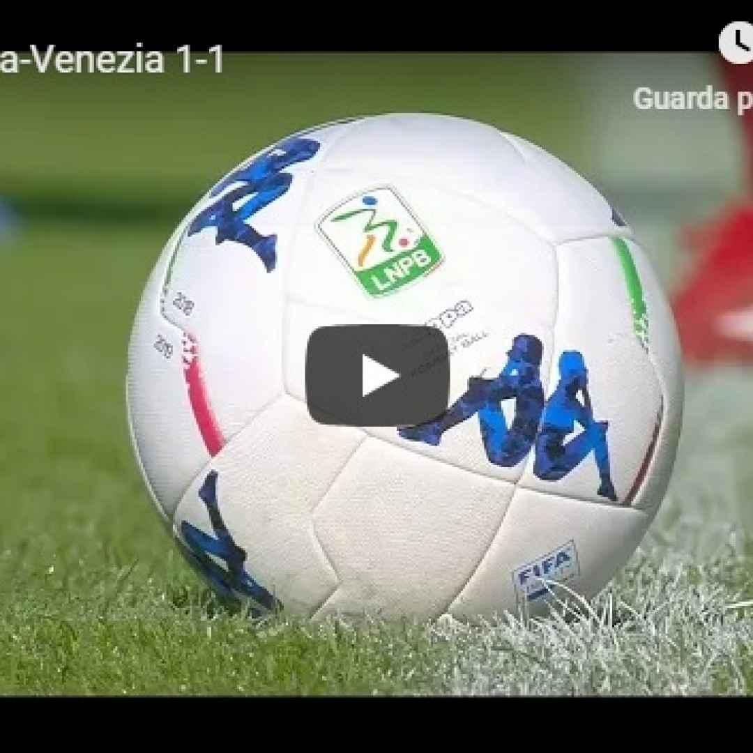 salernitana venezia video gol calcio