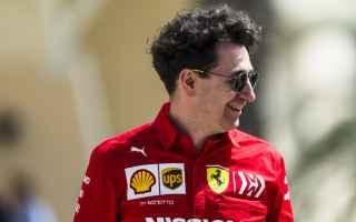 Formula 1: f1  formula1  ferrari  binotto  vettel
