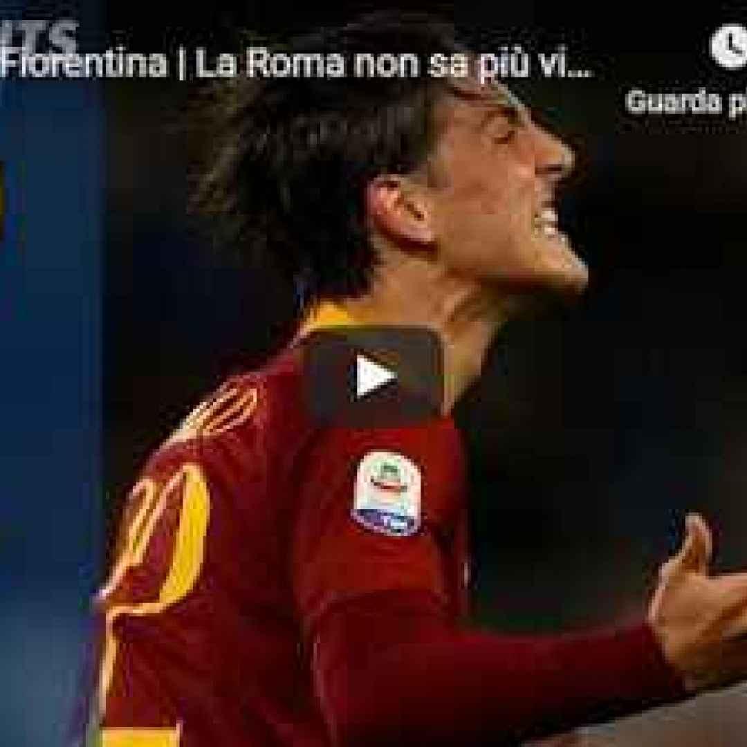 roma fiorentina video gol calcio