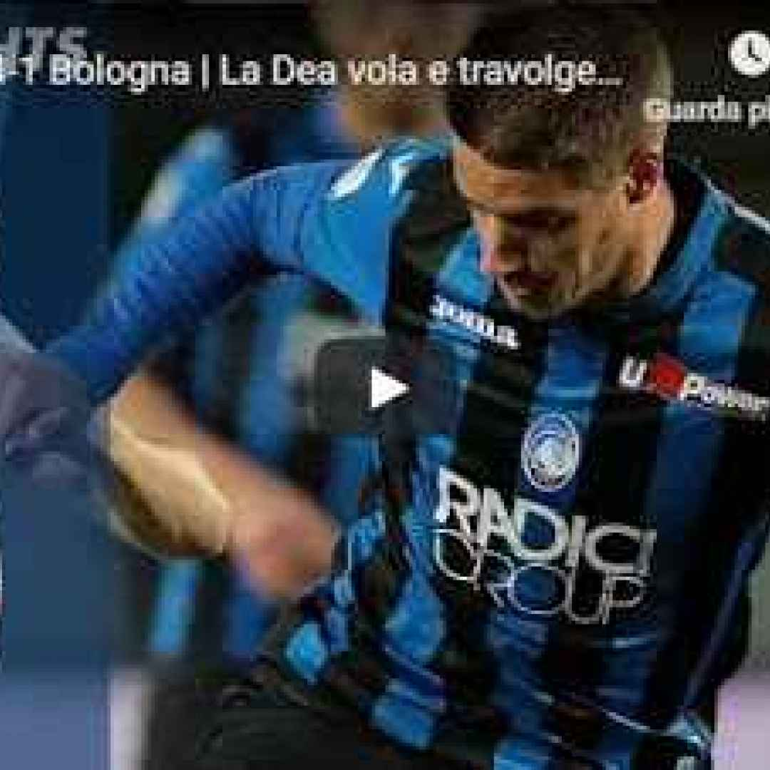 atalanta bologna video calcio gol