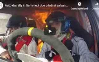 Motori: rally video auto motori sport