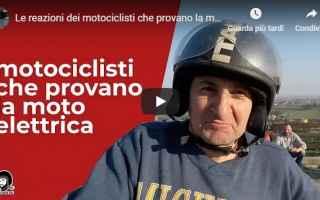 moto motori video moto elettrica prova