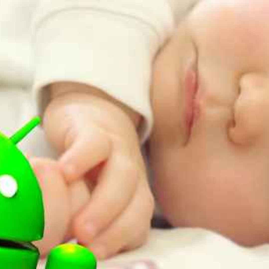 rumore bianco genitori mamma android neo