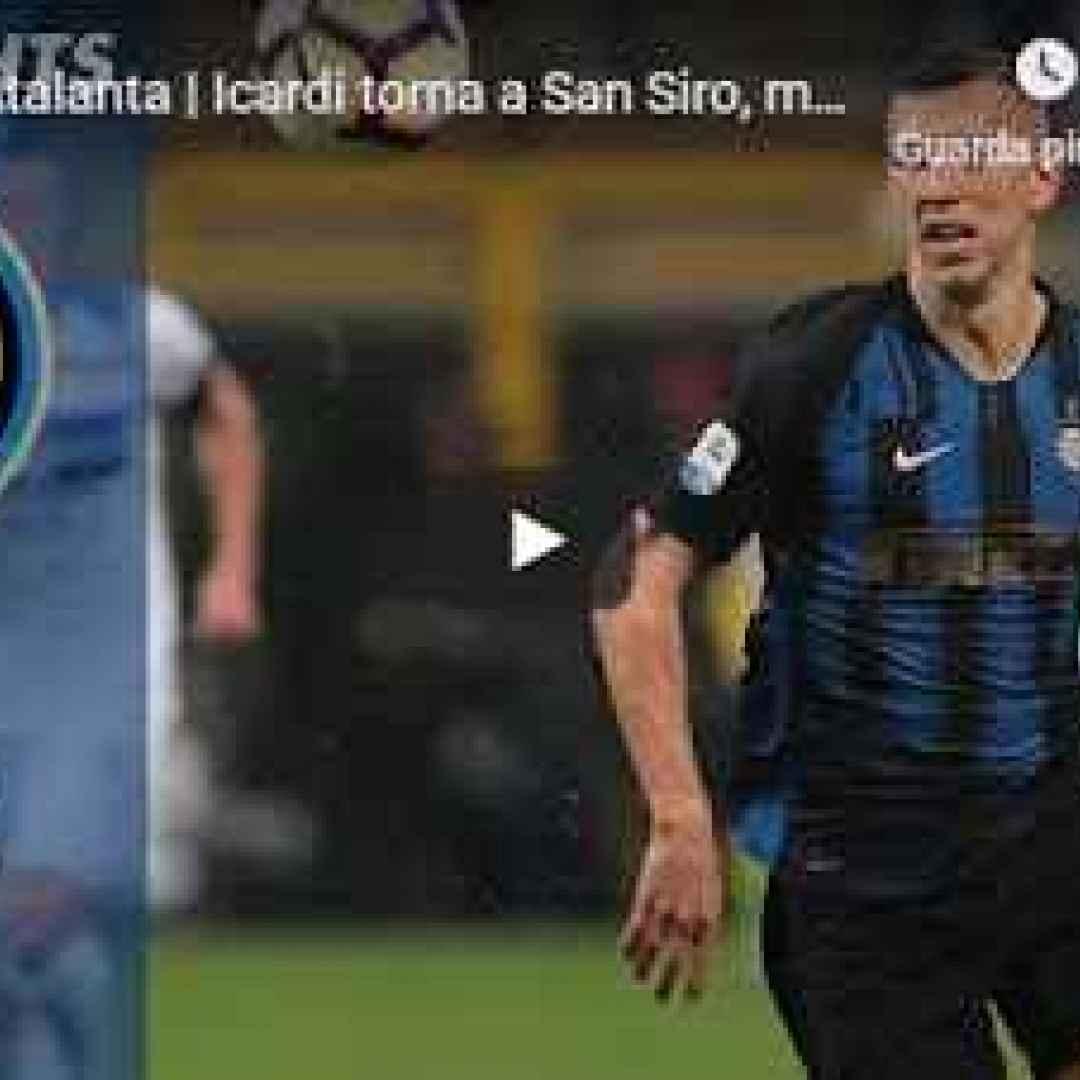 inter atalanta video gol calcio
