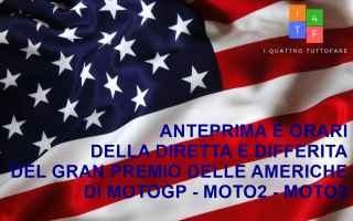 La corsa al Gran Premio delle Americhe negli Stati Uniti ha una lunga storia, con la presenza di pis