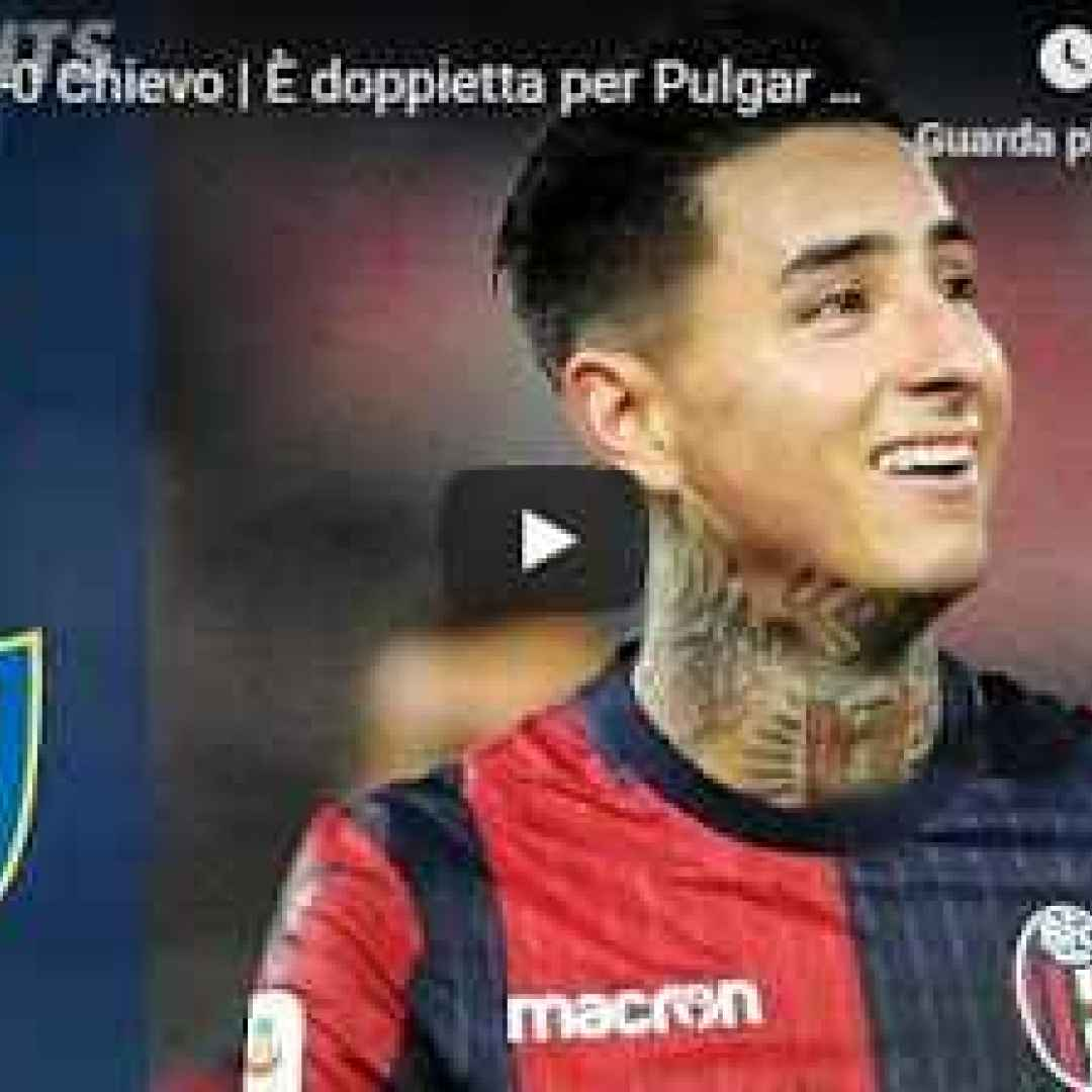 bologna chievo video gol calcio