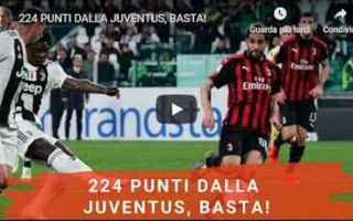 Serie A: milan juventus video calcio pellegatti