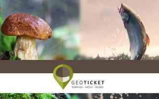 Caccia e Pesca: geoticket  android  pesca  funghi  montagna