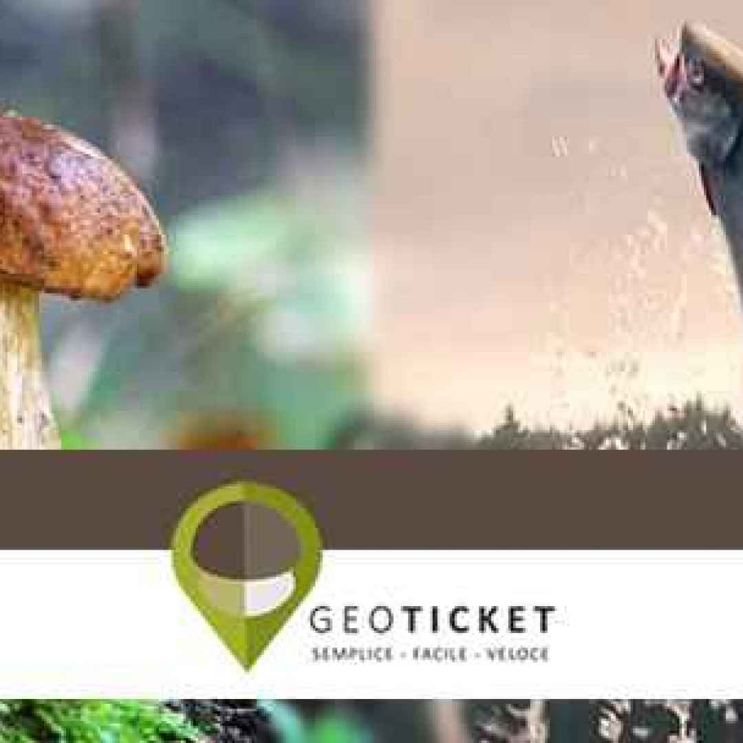 geoticket  android  pesca  funghi  montagna