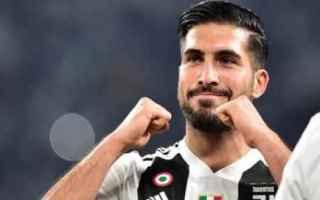 Calcio: juventus  juve  champions  emre can