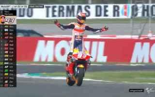 Marc Marquez arriva da leader del mondiale al Cota, dove da quando il Gran Premio delle Americhe nel