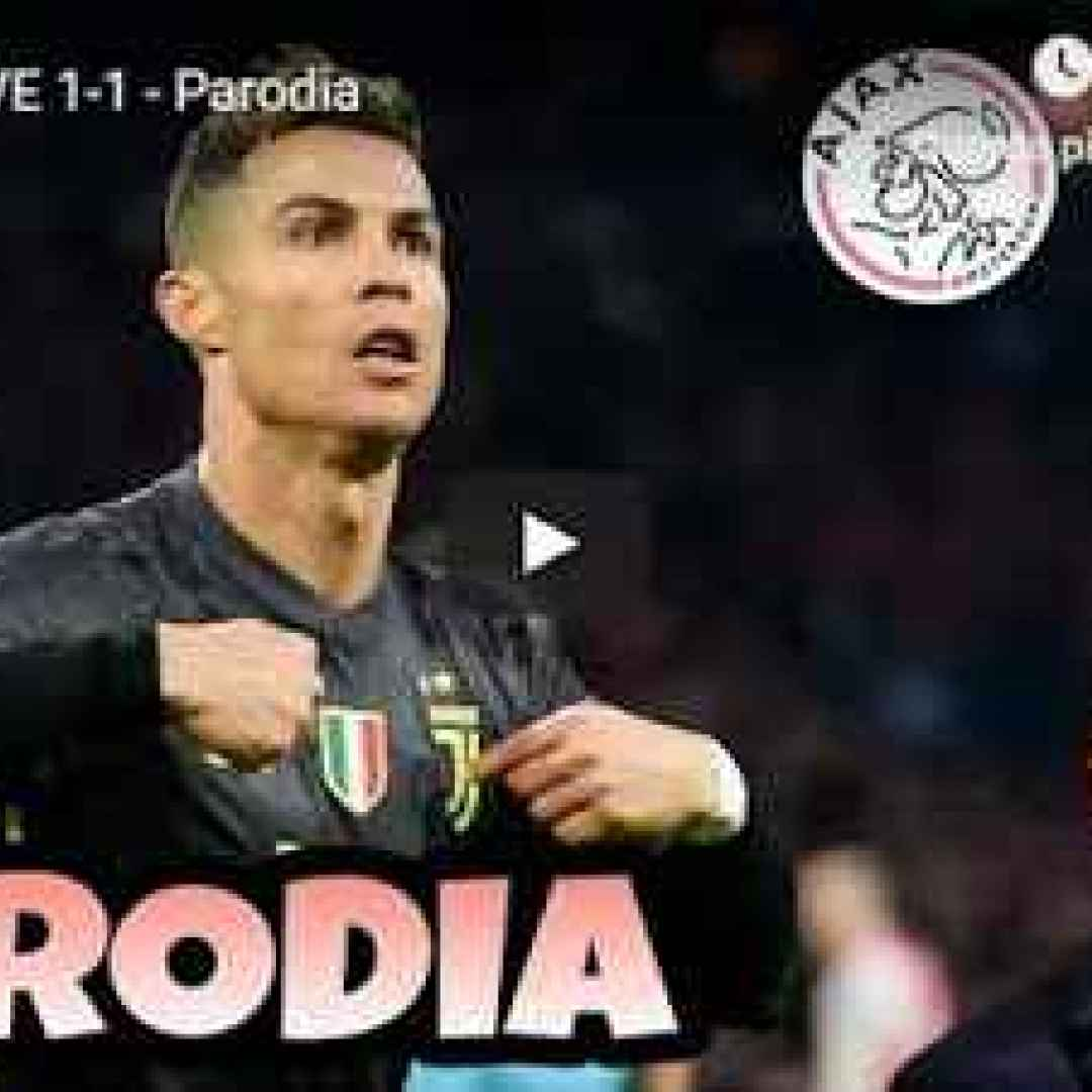 ajax juventus video calcio allegri