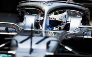 Grande equilibrio nelle prime due sessioni, delle prove libere del Gran Premio della Cina, dove Bott