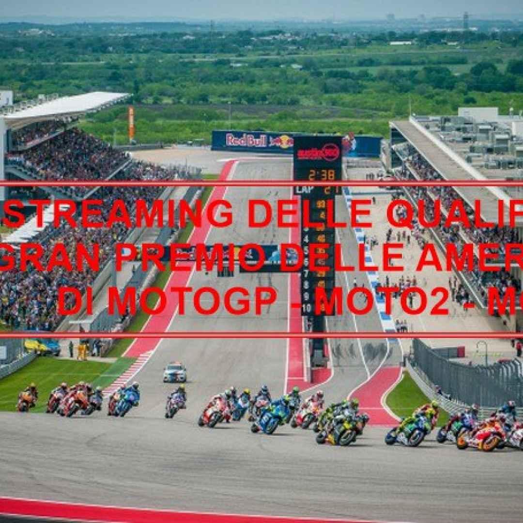 MotoGP | Diretta Qualifiche del Gran Premio delle Americhe in Italiano di MotoGP-Moto2-Moto3