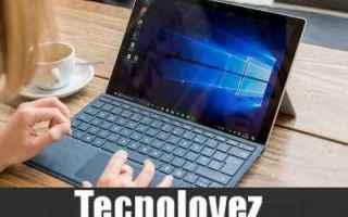 Computer: windows 10 aggiornamento windows