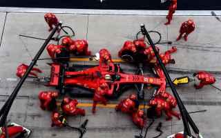 Formula 1: f1  chinesegp  vettel  ferrari  race1000