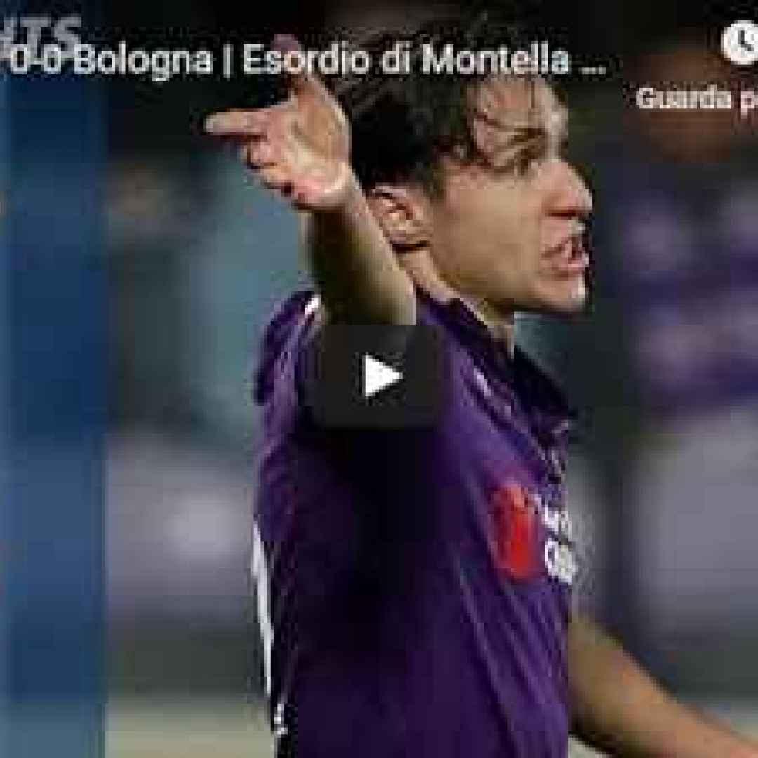 fiorentina bologna video calcio